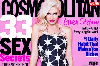 Gwen Stefani Covers March Issue Of 'Cosmopolitan' Magazine: 9 Girly Photos