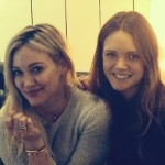 Hilary Duff Hit The Studio With Tove Lo