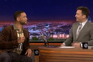 "Will Smith And Jimmy Fallon Beatbox ""It Takes Two"" On 'The Tonight Show': Watch"