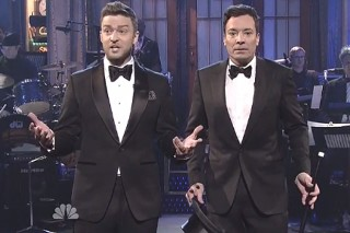 "SNL 40: Justin Timberlake And Jimmy Fallon Open The Show With ""The History Of SNL"""