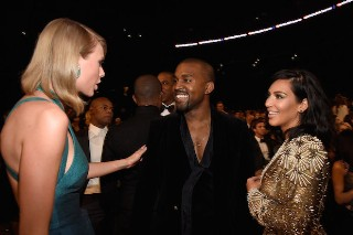Kanye West Plans To Record With Taylor Swift, Talks Beck Interruption At Grammys