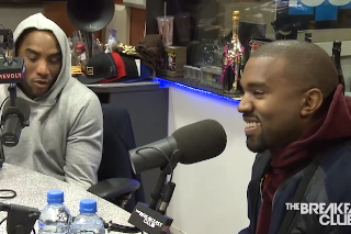 Kanye West Talks The Grammys, Tyga Controversy & New Album On 'The Breakfast Club': Watch The Interview
