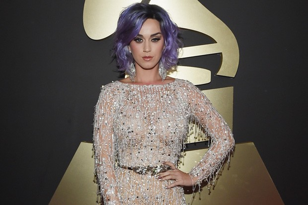 Katy Perry Served Serious Glamor At The Grammys