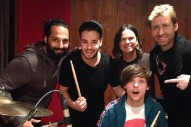 "One Direction Are ""Creating Hits"" In The Studio With Nickelback's Chad Kroeger"
