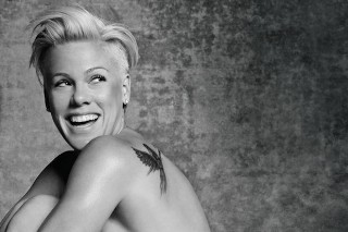 Pink Poses Naked For PETA: See The Campaign Photo