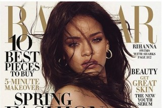 Rihanna Glows On The March Issue Of 'Harper's Bazaar': 8 Photos