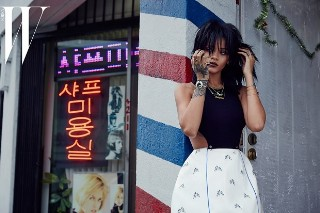 Rihanna Covers 'W Korea' 10th Anniversary Issue: 11 Photos