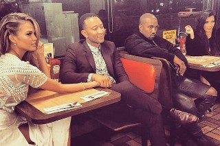 Kanye West, Kim Kardashian, John Legend And Chrissy Teigen Went To Waffle House: Morning Mix