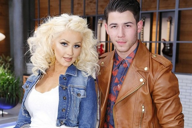 Christina Aguilera Nick Jonas The Voice
