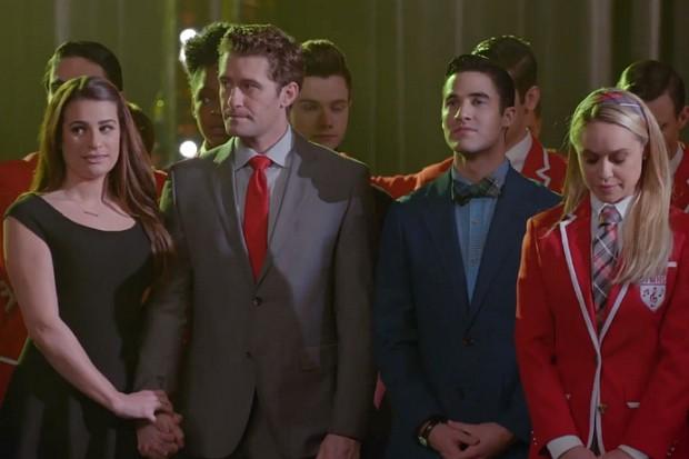 Glee recap We Built This Glee Club Lea Michele Matthew Morrison Season 6 2015