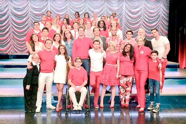 Glee series finale final episode 2015 cast crew