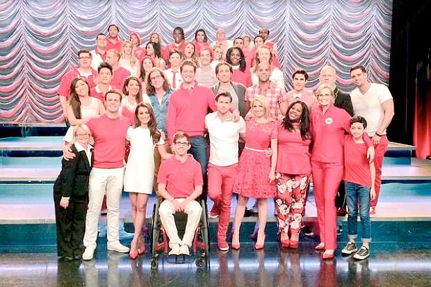 Glee series finale final episode 2015 cast crew