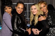 This Pic Of Beyonce, Madonna, Rihanna & Alicia Keys Was The Most Exciting Thing About The TIDAL Launch
