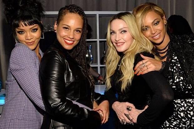 Madonna Beyonce Rihanna Alicia Keys TIDAL launch