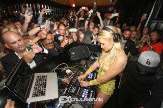 Paris Hilton Kicks Off 2015 Winter Music Conference In Miami: 10 Photos Of The Glamorous DJ In Action