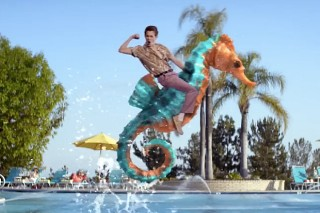 """Martin Garrix And Usher's """"Don't Look Down"""" Video: Watch Some Nerd Try To Win The Girl"""