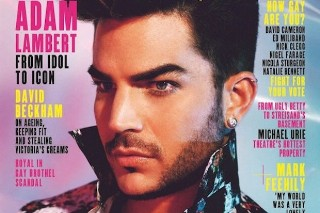 Adam Lambert Graces The Cover Of The May 2015 Issue Of 'Attitude': See The Photo