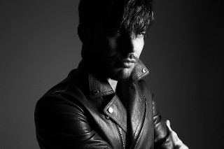 """Adam Lambert Broods For Rankin In 'Hunger' And Talks """"Ghost Town"""" And 'The Original High': 6 Photos"""