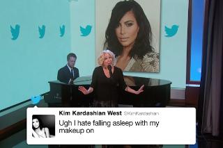 Bette Midler Sings Kim Kardashian Tweets On 'Jimmy Kimmel Live': Watch