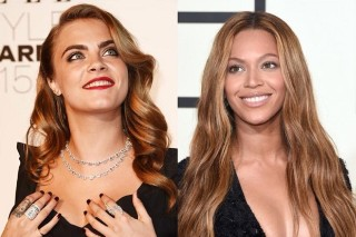Did Beyonce And Cara Delevingne Hit The Studio Together?