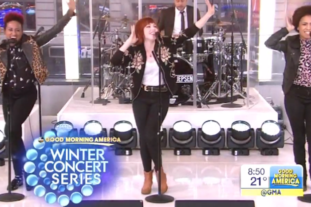 """Good Morning America Watch Live : Carly rae jepsen performs """"i really like you live on"""