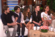 The Cast Of 'Glee' Talk Their Final Episode On 'The Ellen Degeneres Show': Watch