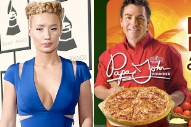 The Best Shade And Pop Star Beefs Of Q1 2015, From Iggy Azalea Vs. Papa John's To Madonna Vs. Sock Bitch