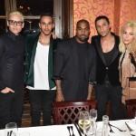 Jared Leto, Kanye West & Kim Kardashian
