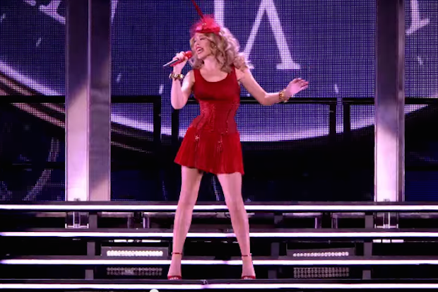 "Kylie Minogue Premieres ""Timebomb"" Live From 'Kiss Me Once Tour' DVD: Watch"