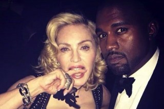 Madonna Will Be Featured On Kanye West's New Album (& Also Has A Drake Collaboration In The Works)
