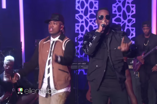 "Ne-Yo & Juicy J Perform ""She Knows"" On 'The Ellen Degeneres Show': Watch"