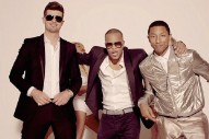 "Robin Thicke & Pharrell To Appeal ""Blurred Lines"" Verdict: Morning Mix"