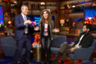 Shania Twain Plays 'Plead The Fifth' And 'That Don't Impress Me Much' On 'Watch What Happens Live': Watch