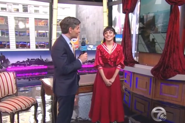 """Good Morning America Watch Live : Vanessa hudgens performs """"the night they invented"""