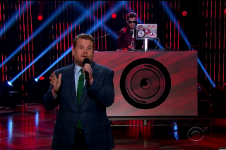 Mark Ronson Assists James Corden With His 'Late Late Show' Rap Monologue: Watch