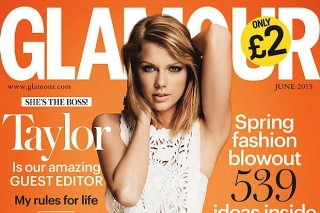 Taylor Swift Covers The June 2015 Issue Of 'Glamour UK': 7 Photos