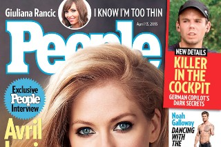 Avril Lavigne People Magazine Lyme disease ticks sexy nude