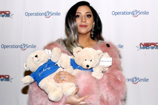 Lady Gaga Operation Smile teddy bears