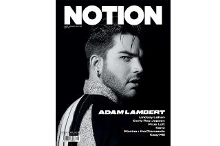 "Adam Lambert Talks ""Ghost Town"" And 'The Original High' In 'NOTION Magazine': 3 Pics"