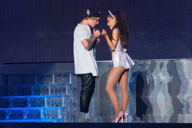 Justin Bieber Ariana Grande Tour Justin Bieber Joins Ariana