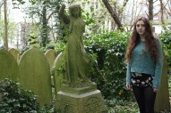 What's Birdy Up To? Drawing And Exploring Cemeteries, It Seems