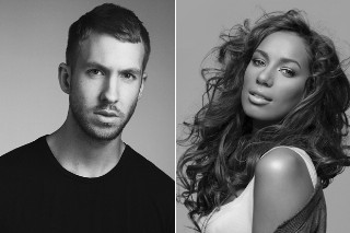 Did Calvin Harris Just Throw A Little Shade At Leona Lewis? Her Fans Certainly Think So
