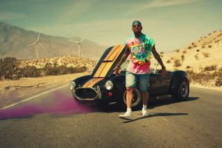 """Chris Brown Breaks Down On The Way To Coachella In Deorro's """"Five More Hours"""" Video"""