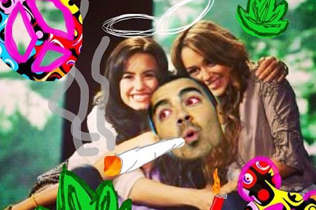 demi-joe-miley-weed-high