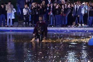Kanye West Walks On Water During Surprise Armenia Concert: Watch