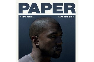 Kanye West Covers The April 2015 Issue Of PAPER Magazine: 6 Photos