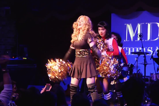 Chris America, Madonna Impersonator, Performs At Madonnathon In 'Just About Famous': Idolator Premiere