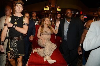 Mariah Carey Makes Grand Entrance At Caesars Palace For Las Vegas Residency: 10 Photos
