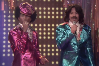 Pharrell & Jimmy Fallon Perform As 'Afro & Deziak' On 'The Tonight Show': Watch