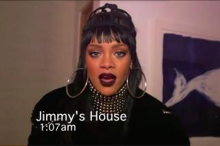 Rihanna Pranks Jimmy Kimmel On April Fool's Day: Watch